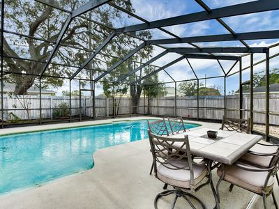 Photo for Dog-Friendly 2BR, 2BA Clearwater House w/ Pool, 5 Miles from the Beach