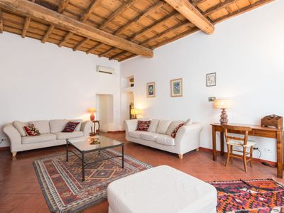 Photo for 3 bedroom Apartment, sleeps 5 in Rome with Air Con and WiFi