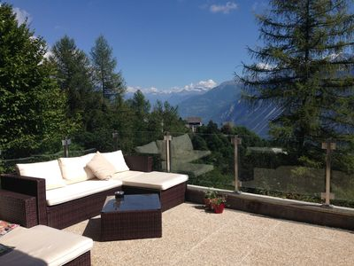 Photo for 3BR Apartment Vacation Rental in Crans-Montana