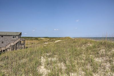 You'll love how easy it is to walk to the beach from this vacation rental.