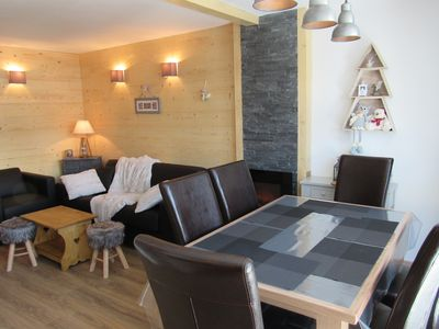 Photo for Nice 40sqm apartment, renovated in the center of Val Thorens for 4/6