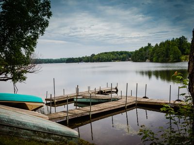 Photo for Unwind on the Shores of Big Shag Lake-25 minutes from Marquette, 10 from airport