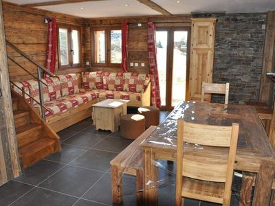 Photo for Chalet Crest-Voland, 3 bedrooms, 8 persons