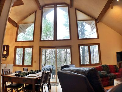 Photo for Inviting, Pet-Friendly Chalet Near Slopes and Lake