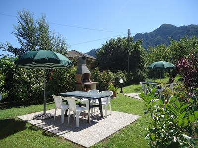 Photo for for 3-4 people, only 200m to the lake / beach, with garden, grill