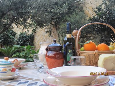 Photo for 'Garden of citrus' romantic location, elegant and functional OFFERS SUMMER