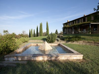 Photo for Podere Isabella - Family Villa in the Val d'Orcia