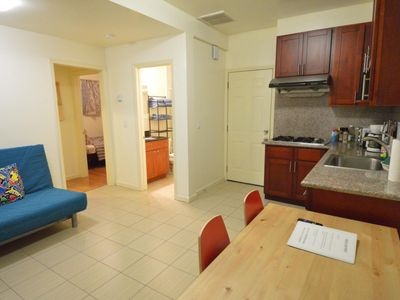 Photo for [A] 2-Bedroom suite with kitchen near Golden Gate Park and Ocean Beach - Two Bedroom Apartment, Sleeps 7
