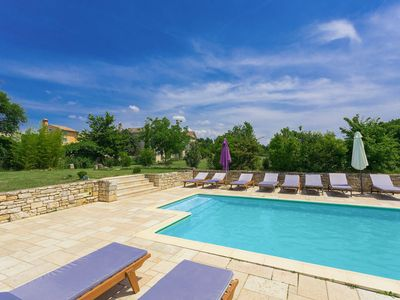 Photo for This 7-bedroom villa for up to 16 guests is located in Pula and has a private swimming pool and Wi-F