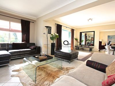 Photo for A designer owned luxury property with private swimming pool for up to 6 people