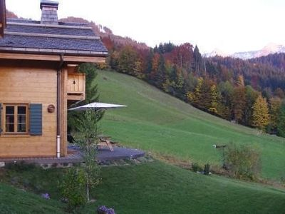 Photo for This is a lovely, south facing, 4 star chalet with Wi-Fi located in La Clusaz