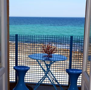 Photo for By the sea with the beach under the house - CASA NETTUNO