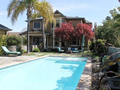 Photo for Perfect Sonoma Location: Blocks From The Plaza, Pool, Spa, Spacious & Private