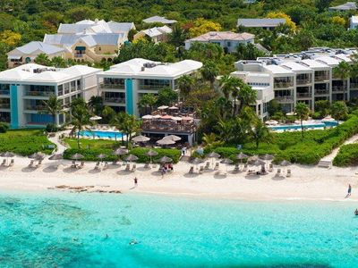 Photo for LARGE, OCEAN FRONT SUITE ON BEST SNORKELLING ON GRACE BAY BEACH!