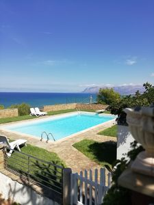 Photo for VILLA WITH PRIVATE POOL A FEW STEPS FROM THE BEACH