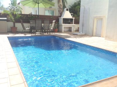 Beautiful private pool in secluded surroundings