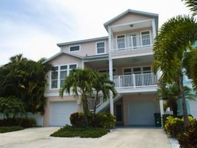 The beautiful Casa del Mar: 4BR, 2.5BA, pool, elevator, short walk to the beach.