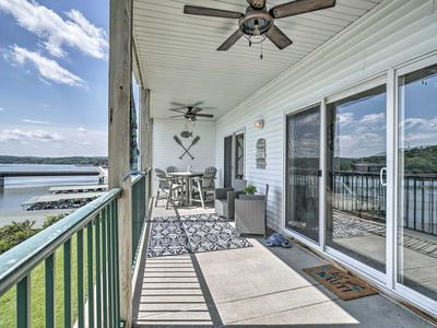 Photo for NEW! Lakefront Camdenton Condo w/Deck, Shared Pool
