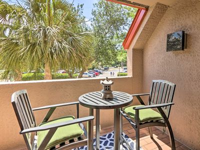 Photo for NEW! Colorful Condo w/Jetted Tub, Walk to Eateries