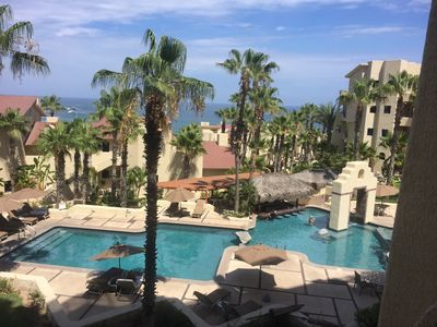 Photo for New owners! 2 bed/2 bath with fantastic ocean and pool views!