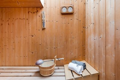 A perfect escape:  unwind this winter with a private sauna, post clifftop walk