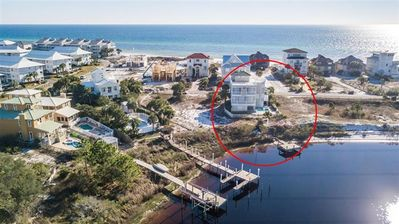 Photo for Lake front home with Gulf views. OPEN 8/25-30! SLEEPS UP TO 18!