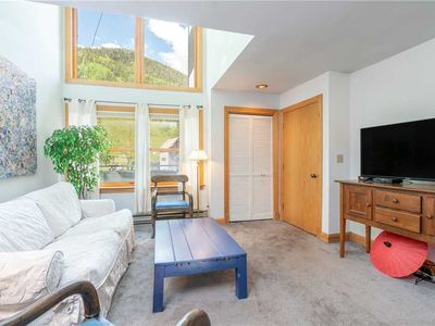 Photo for The Ski Lift Is At Your Doorstep! One-Bedroom Ski-in/Ski-out Condo