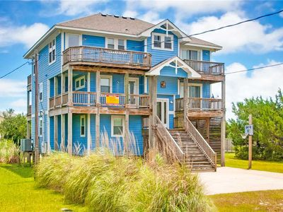Photo for Kick Back & Relax Oceanview w/ Elevator, Game Rm, Grill, Hot Tub, Wet Bar & More