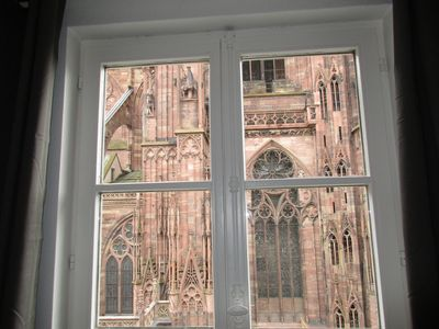 Photo for 4 rooms furnished 85m2 Cathedral Square Downtown Strasbourg