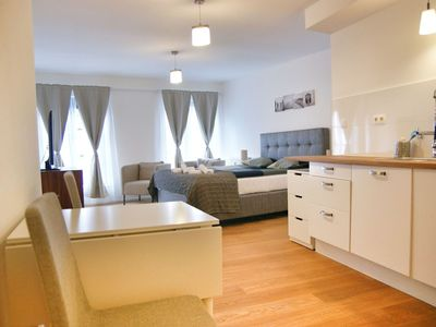 Photo for Beautiful apartment for 2 people with WIFI and TV