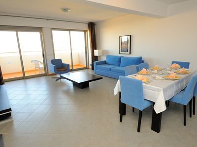 Photo for Spacious 100m2 2bedrooms Apartment hotel with sea view and 4stars service
