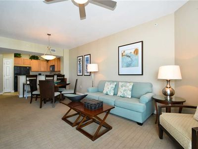 Photo for TROPICAL condo w/ PRIVATE BALCONY! The resort has POOLS, PLAYGROUND, & more FUN!