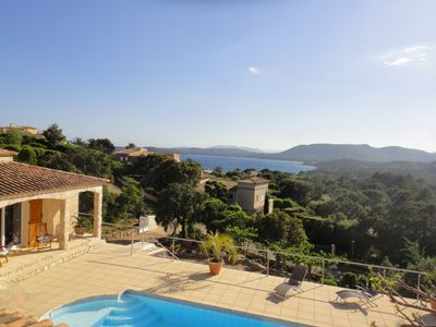 Photo for VILLA WITH LARGE HEATED POOL, BEACH 500M. , SEA AND MOUNTAIN