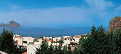 Photo for Semi-detached villa in stunning setting with wonderful sea view