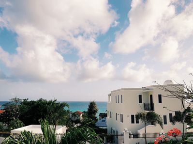 Wake up to stunning ocean views from the master bedroom terrace and enjoy St. Maarten's beautiful sunrises and sunsets!