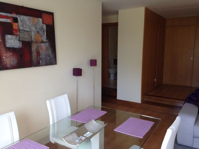Photo for T1 apartment large terraces near Porto with pool, tennis
