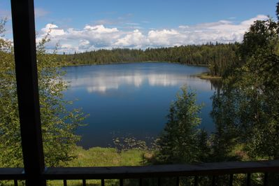 Your view of Hope Lake from the upper deck.
