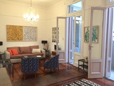 Photo for Private, quiet, very beautiful apartment in the heart of the city.