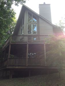 Photo for Beautiful Mountain Chalet in Wintergreen.