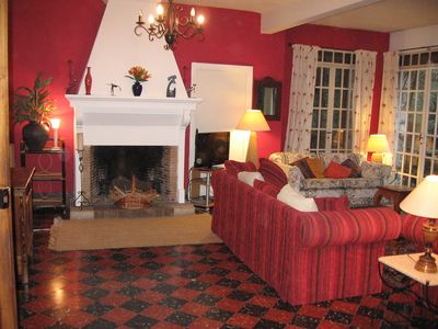 Redecorated Lounge