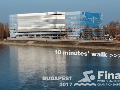 Photo for Large riverside apartment, 10' walk from 2017 Swimming World Championship venue