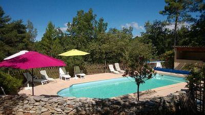 Photo for Cottage with pool Verdon / Gréoux Baths / lake Esparron
