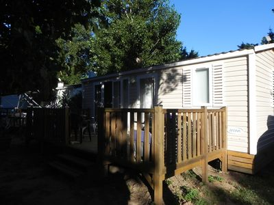 Photo for MOBIL HOME 4/6 pl - ALL EQUIPPED - QUIET - CLOSED VIRGILE