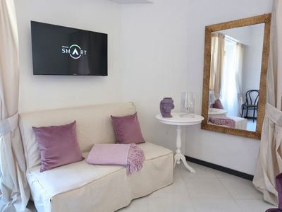 Photo for Unique Apartment, Bright and Perfectly Furnished with Balcony on the Duom Square