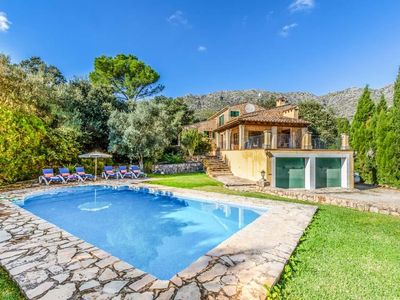 Photo for 3 bedroom Villa, sleeps 7 in Sant Vicent de sa Cala with Pool, Air Con and WiFi