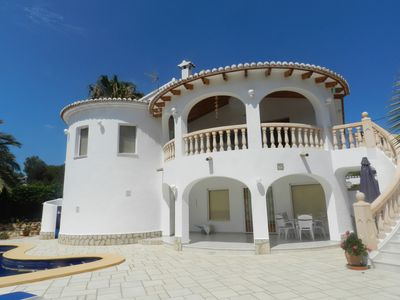 Photo for Nice, exclusive villa near to the sea