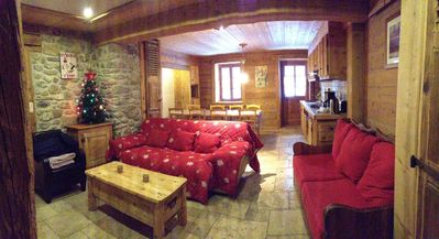 Photo for Mountain style renovated apartment in an old farmhouse 4km from Chatel