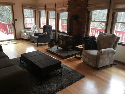 Photo for Cozy Callicoon Woods Home w/ Waterfall!! and Swimming Hole!!