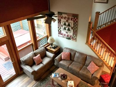 Photo for Newly Remodeled - 2 Masters and 2 Gathering Areas, Hot Tub, Walk to Town