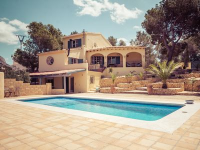 Photo for 5 Bedroom finca with large pool and 371m2 terraces with great views